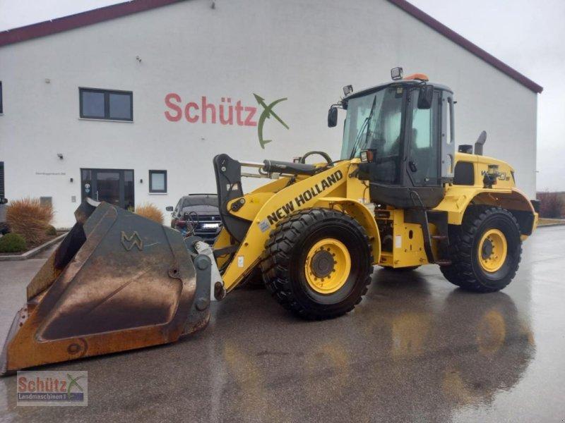 Radlader типа New Holland W170B Agrar, Bj.10, 5860H, Hochkippschaufel, Top, Gebrauchtmaschine в Schierling (Фотография 1)