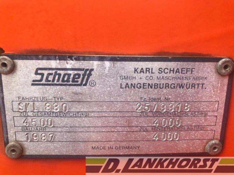 Radlader des Typs Schaeff SKL 830, Gebrauchtmaschine in Emsbüren (Bild 9)