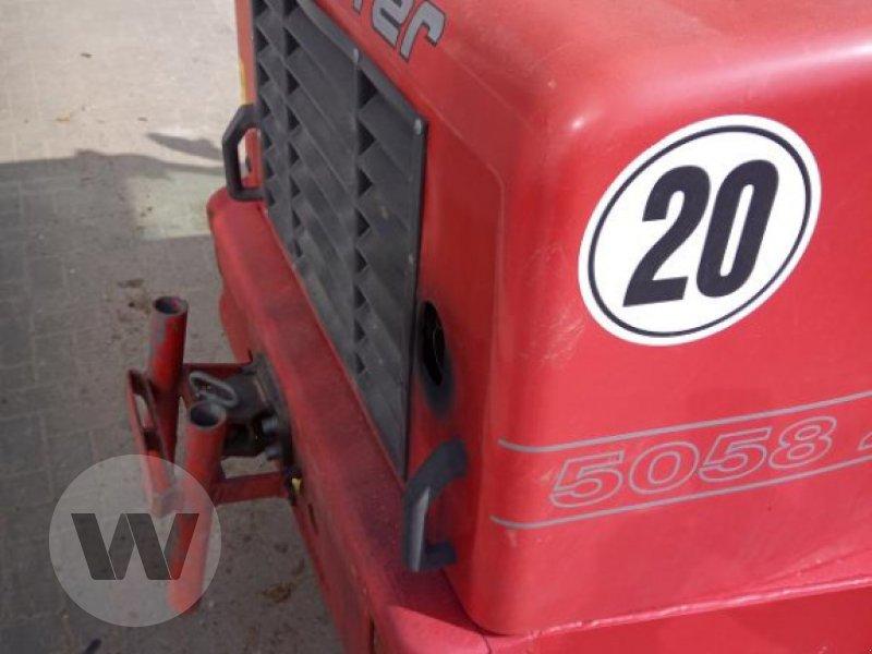 Radlader des Typs Schäffer 5058 Z, Gebrauchtmaschine in Husum (Bild 3)