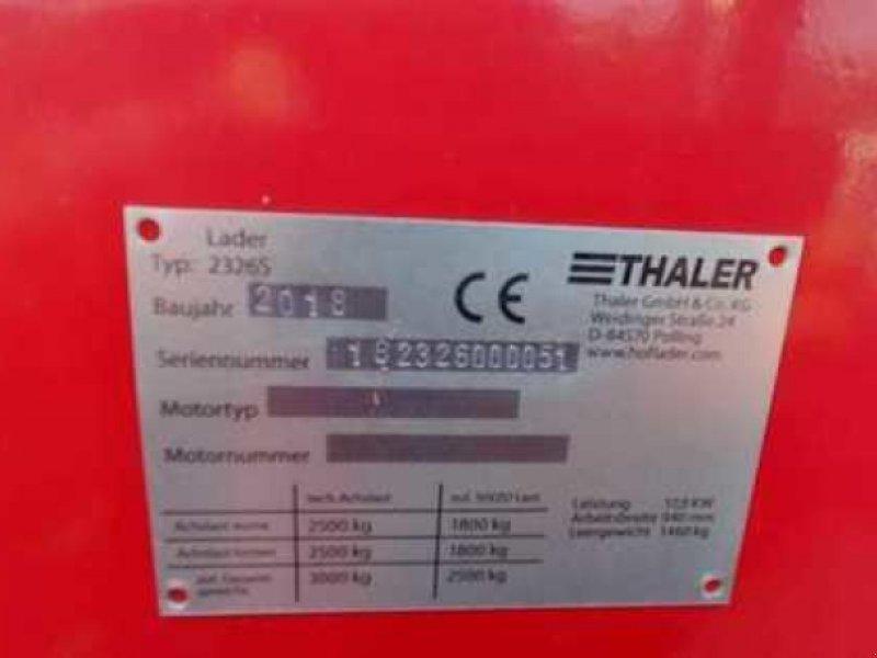Radlader des Typs Thaler Hoflader 2326 S, Vorführmaschine in Lebach (Bild 7)