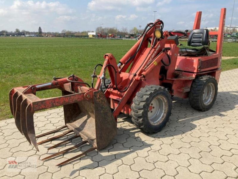 Radlader des Typs Weidemann  1025, Gebrauchtmaschine in Oyten (Bild 1)