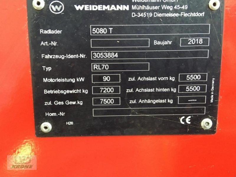 Radlader des Typs Weidemann  5080 T, Gebrauchtmaschine in Alt-Mölln (Bild 5)