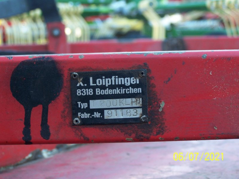 Rasenmäher des Typs Loipfinger T 200 KLH, Gebrauchtmaschine in Murnau (Bild 3)