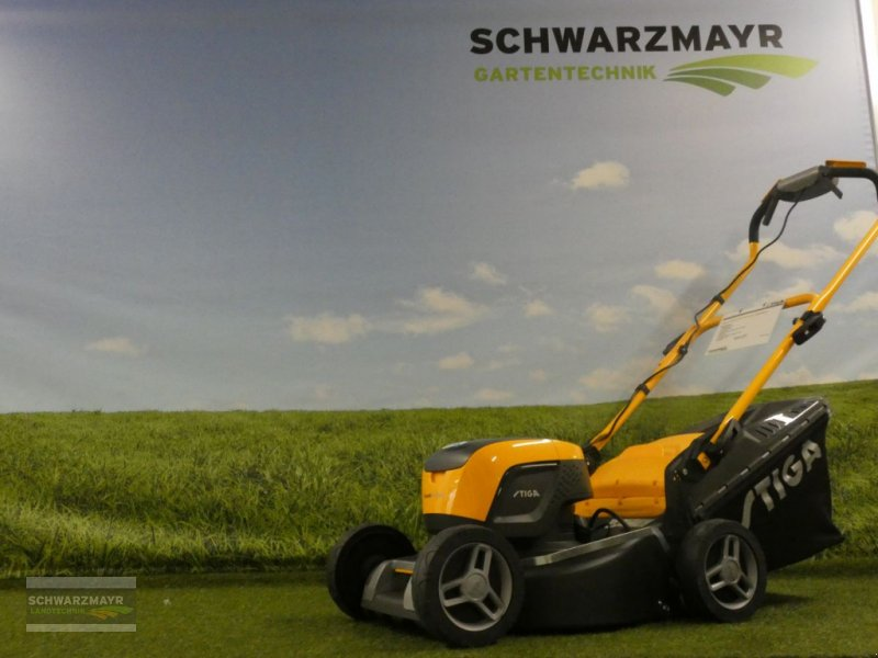 Rasenmäher des Typs Stiga Combi 43 SQ DAE-Dual, Neumaschine in Gampern (Bild 1)