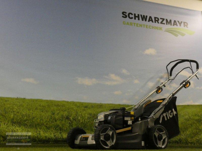 Rasenmäher des Typs Stiga Twinclip 50 SQ B, Neumaschine in Aurolzmünster (Bild 1)