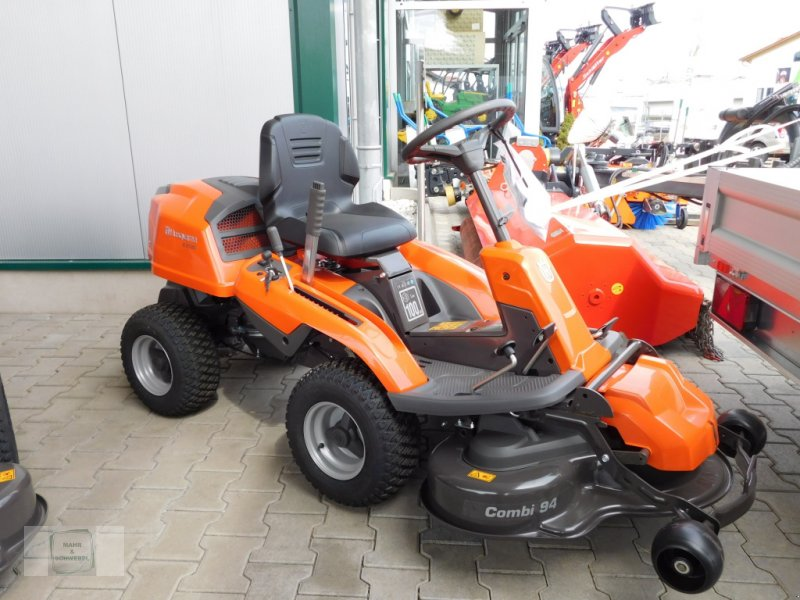 Rasentraktor типа Husqvarna R213C, Neumaschine в Gross-Bieberau (Фотография 1)
