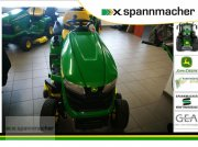 John Deere X350R tractor tuns gazon