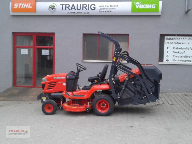 Rasentraktor of the type Kubota G26HD, Neumaschine in Mainburg/Wambach (Picture 1)