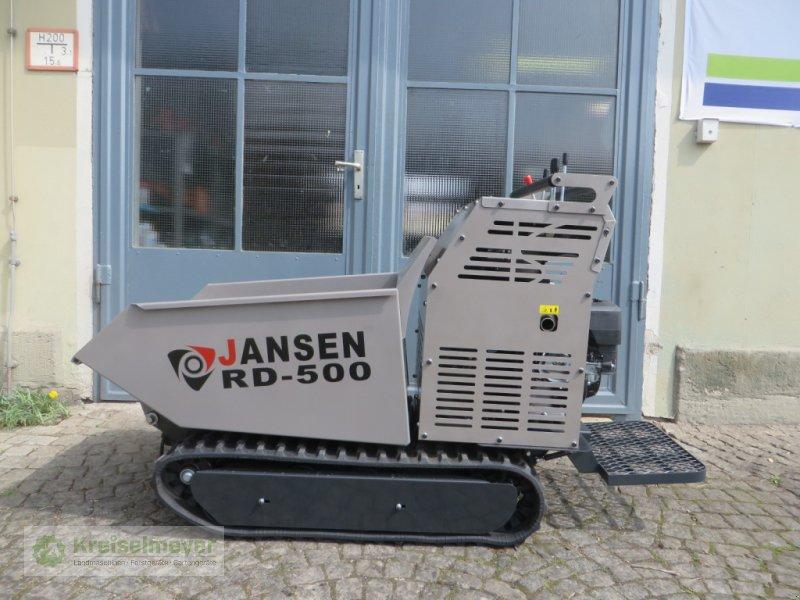 Raupendumper a típus Jansen RD 500 mit Hydrostat-Antrieb, 500 kg Zuladung, hydraulisch kippbar *KOSTENLOSER VERSAND* Dumper, Neumaschine ekkor: Feuchtwangen (Kép 1)