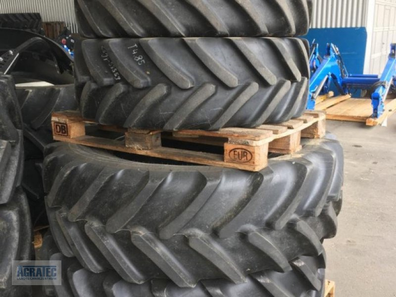 Bild Michelin 480/70 R34 + 380/70 R24