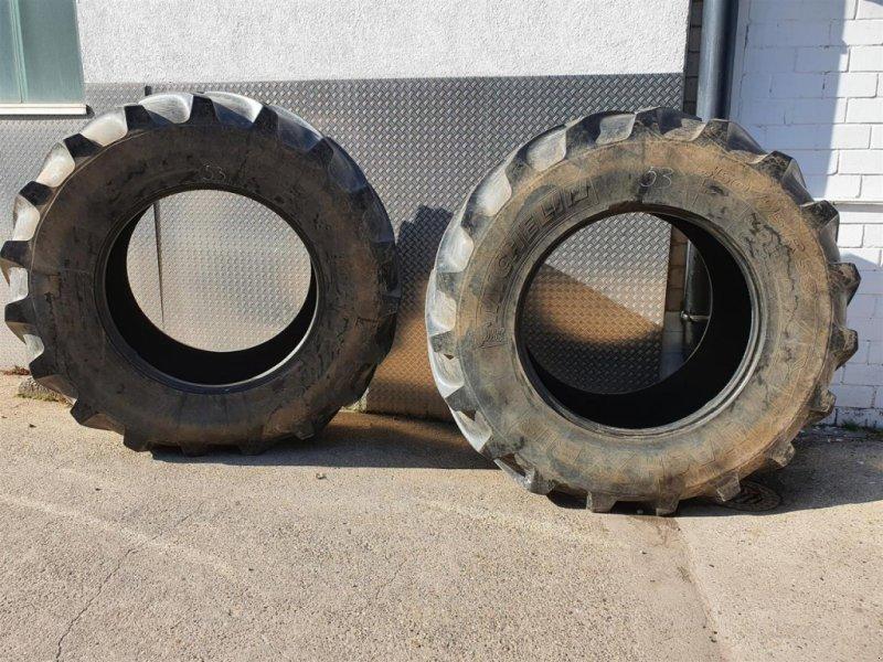 Reifen типа Michelin 650/75R38 x2, Gebrauchtmaschine в Niederkirchen (Фотография 1)