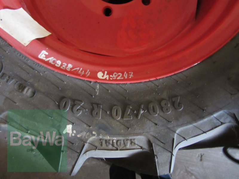 Reifen des Typs Mitas 280/70 R 20 MT, Neumaschine in Volkach (Bild 2)
