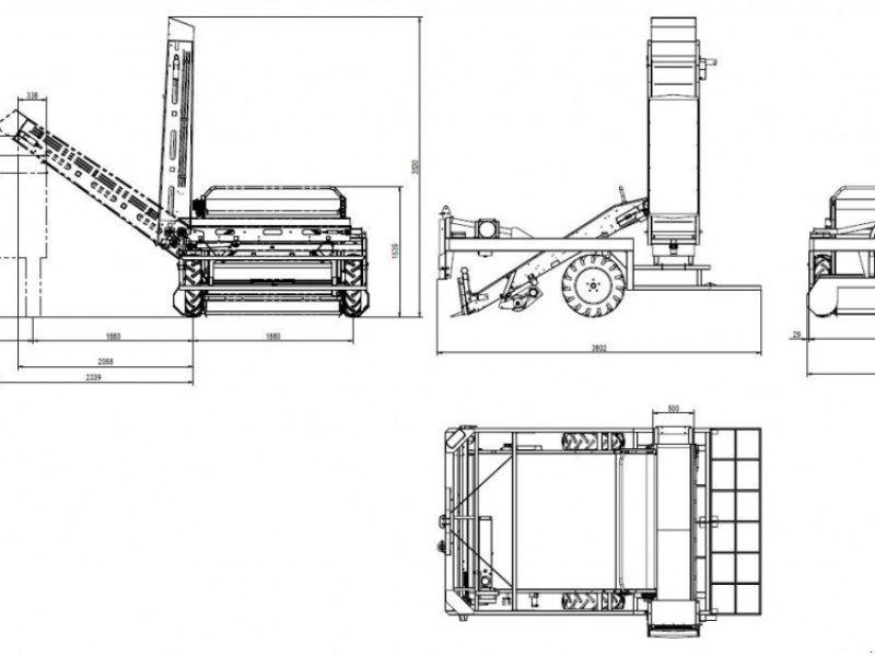 Roder typu Ortomec Vollernter Serie 4000, Gebrauchtmaschine w Dannstadt-Schauernheim (Zdjęcie 8)