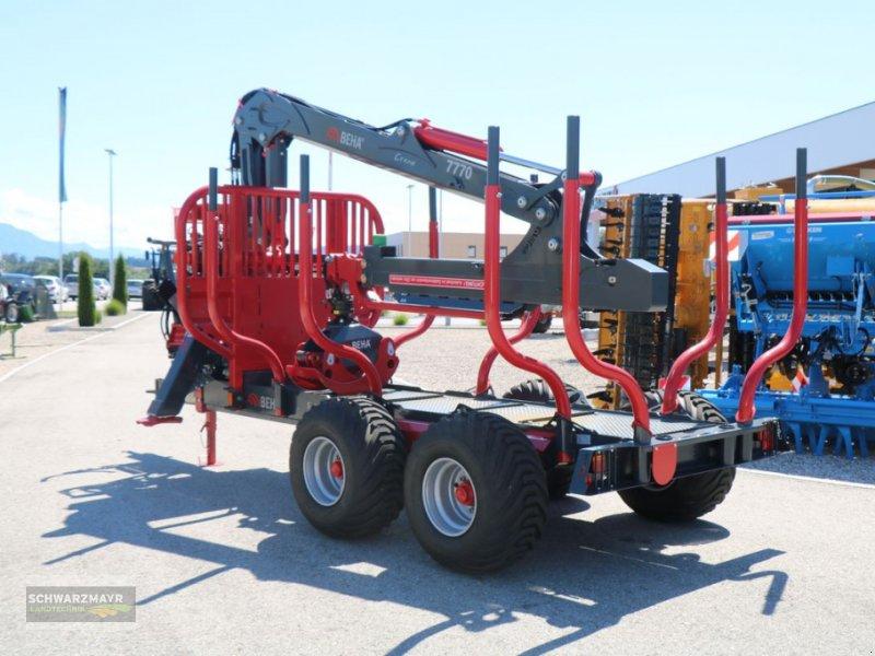 Rückewagen & Rückeanhänger des Typs BEHA T1100/7770, Neumaschine in Gampern (Bild 4)