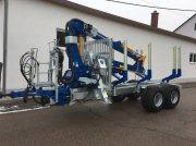 Binderberger RW 12 alpin + BK 7000 Remorcă pentru bușteni