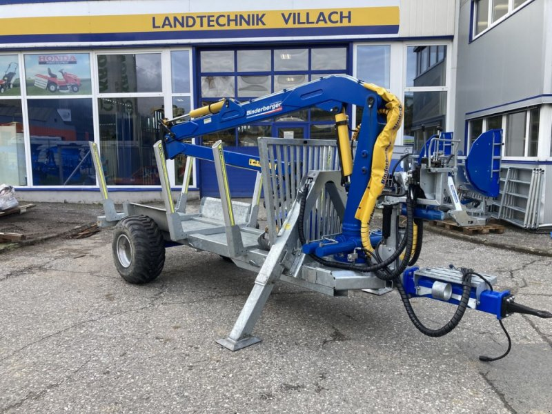 Rückewagen & Rückeanhänger des Typs Binderberger RW 5, Gebrauchtmaschine in Villach (Bild 1)