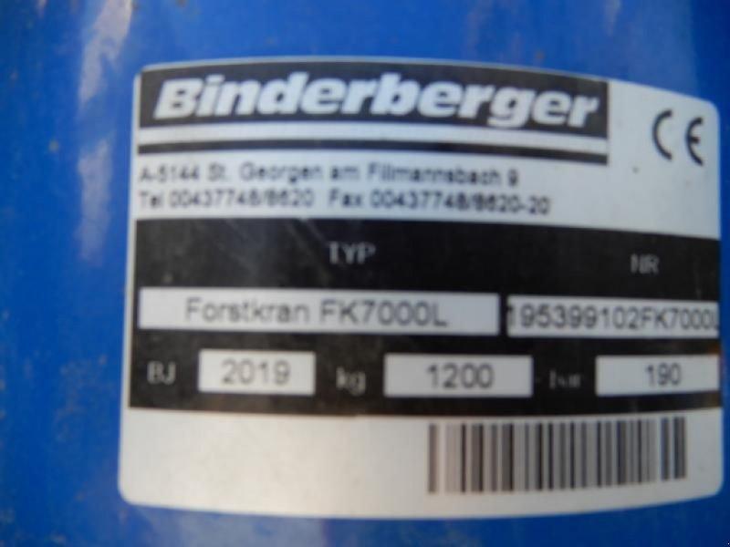Rückewagen & Rückeanhänger des Typs Binderberger RW10 + BK7000 L alpine (Profikran), Vorführmaschine in Mariasdorf (Bild 6)
