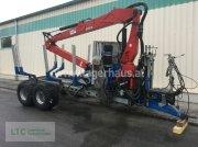 Binderberger RW14 + PENZ 8000S KRAN Remorcă pentru bușteni