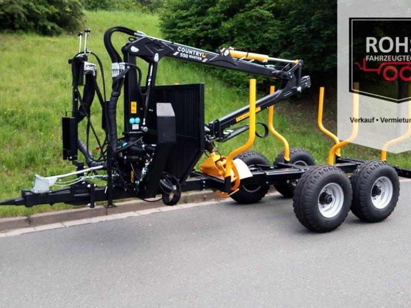 Rückewagen & Rückeanhänger des Typs Country 70S-550Master AEH, Neumaschine in Unterwellenborn (Bild 1)