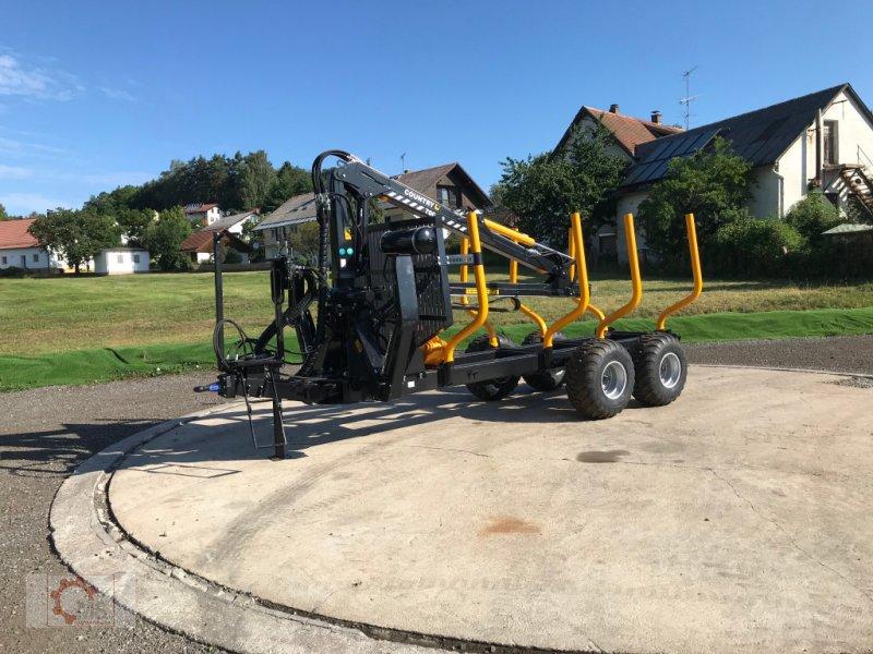 Rückewagen & Rückeanhänger des Typs Country T110D 13t Kran 700 Pro 7,6m Kran 560kg Hubkraft Druckluft, Neumaschine in Tiefenbach (Bild 4)