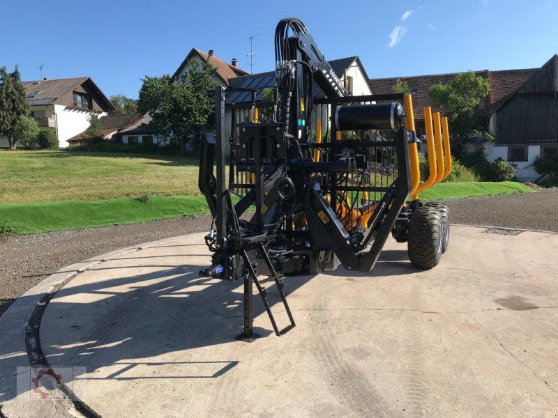 Rückewagen & Rückeanhänger des Typs Country T110D 13t Kran 700 Pro 7,6m Kran 560kg Hubkraft Druckluft, Neumaschine in Tiefenbach (Bild 6)