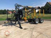 Country T110S 13t Kran 700 Pro 7,6m Kran 560kg Hubkraft Druckluft Трелевочные прицепы