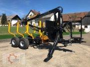 Country T90 11,5t Kran 700 Pro 7,6m Kran 560kg Hubkraft Druckluft Rückewagen & Rückeanhänger