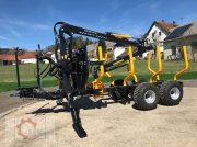 Rückewagen & Rückeanhänger des Typs Country T90 11,5t Kran 700 Pro 7,6m Kran 560kg Hubkraft Druckluft, Neumaschine in Tiefenbach