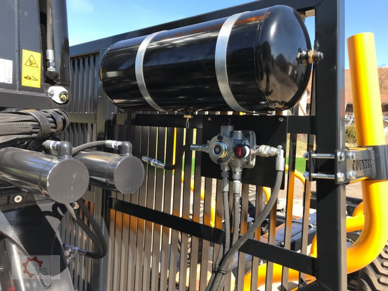 Rückewagen & Rückeanhänger des Typs Country T90 11,5t Kran 700 Pro 7,6m Kran 560kg Hubkraft Druckluft, Neumaschine in Tiefenbach (Bild 11)