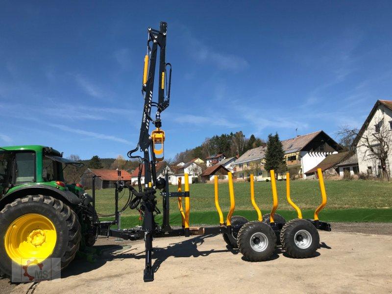 Rückewagen & Rückeanhänger des Typs Country T90 11,5t Kran 700 Pro 7,6m Kran 560kg Hubkraft Druckluft, Neumaschine in Tiefenbach (Bild 12)