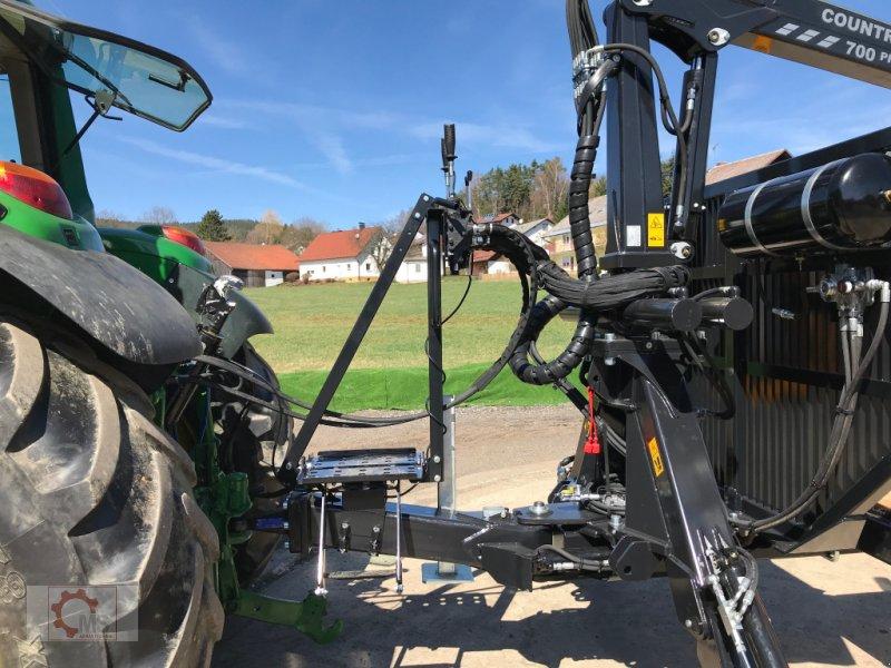 Rückewagen & Rückeanhänger des Typs Country T90 11,5t Kran 700 Pro 7,6m Kran 560kg Hubkraft Druckluft, Neumaschine in Tiefenbach (Bild 16)