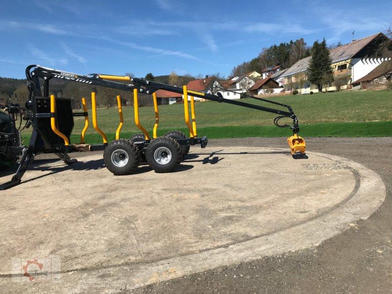 Rückewagen & Rückeanhänger des Typs Country T90 11,5t Kran 700 Pro 7,6m Kran 560kg Hubkraft Druckluft, Neumaschine in Tiefenbach (Bild 28)