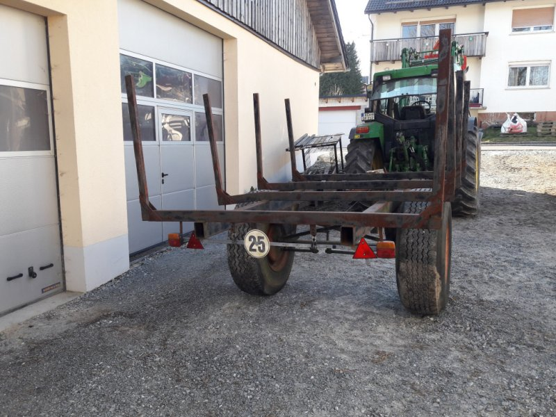 Rückewagen & Rückeanhänger des Typs Eigenbau Rungenwagen, Gebrauchtmaschine in Reichenbach (Bild 2)