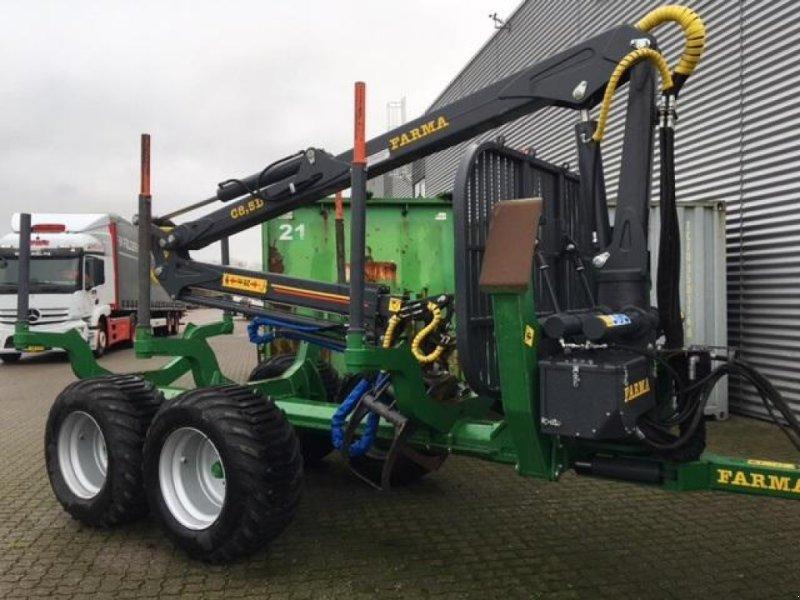 Rückewagen & Rückeanhänger des Typs Farma 8,5-12G2 med Kronos X Crane kranstyrring, Gebrauchtmaschine in Horsens (Bild 1)