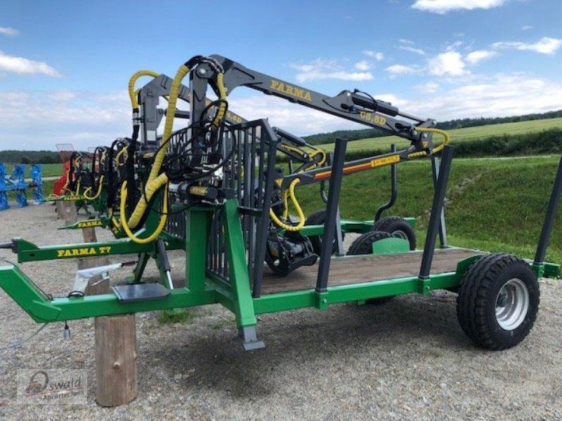 Rückewagen & Rückeanhänger des Typs Farma CT 3,8-6, Neumaschine in Iggensbach (Bild 1)