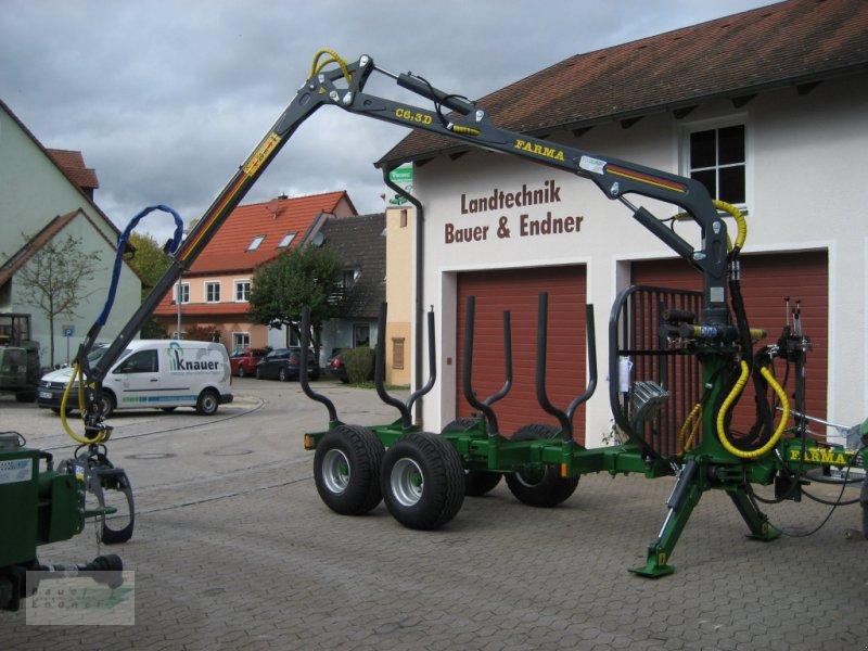 Rückewagen & Rückeanhänger des Typs Farma CT 6,3-8, Neumaschine in Abenberg (Bild 1)