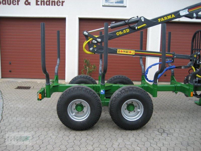 Rückewagen & Rückeanhänger des Typs Farma CT 6,3-8, Neumaschine in Abenberg (Bild 2)
