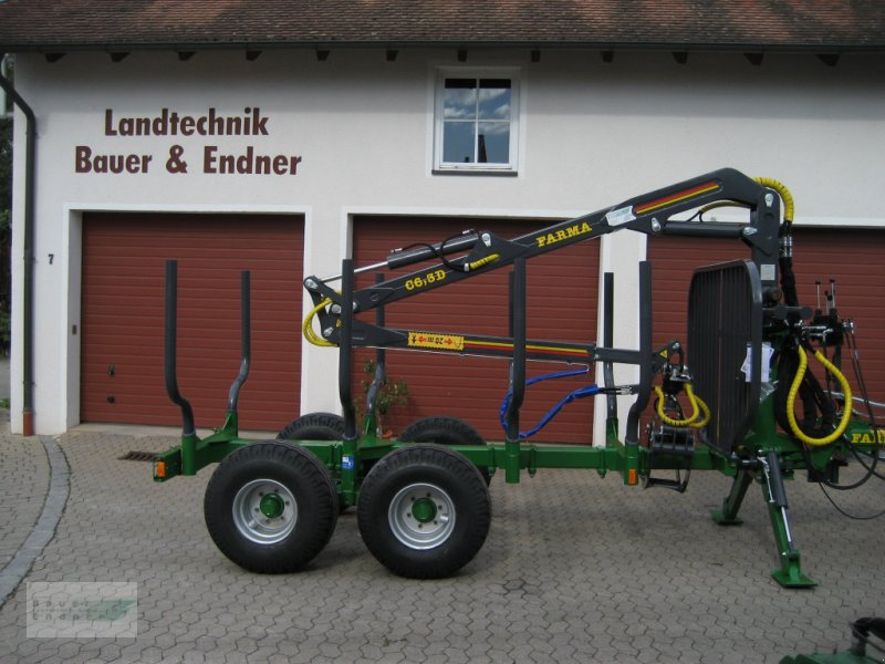Rückewagen & Rückeanhänger des Typs Farma CT 6,3-8, Neumaschine in Abenberg (Bild 6)