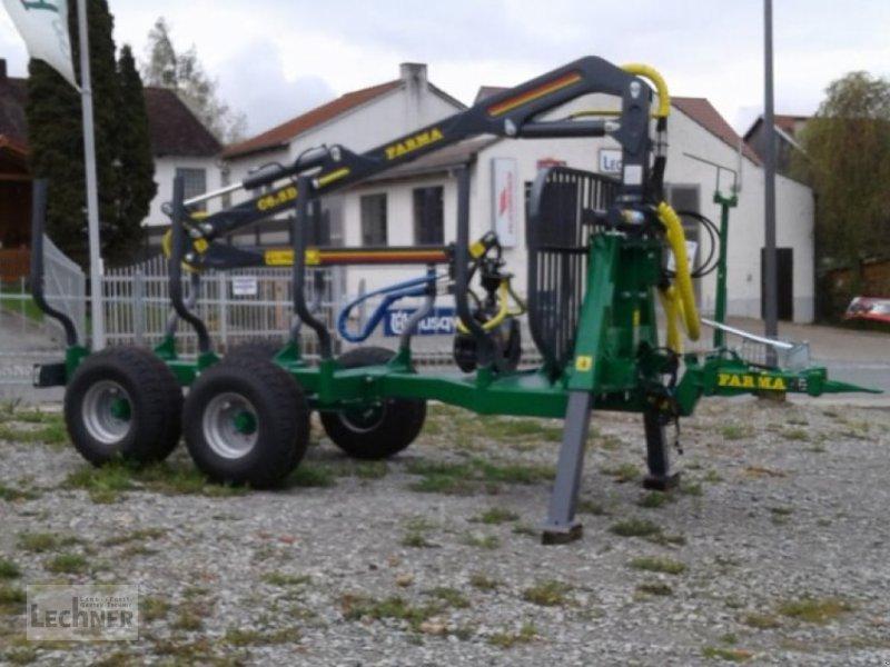 Rückewagen & Rückeanhänger des Typs Farma CT 6.3-9 mit Auflaufbremse, Neumaschine in Bad Abbach-Dünzling (Bild 1)