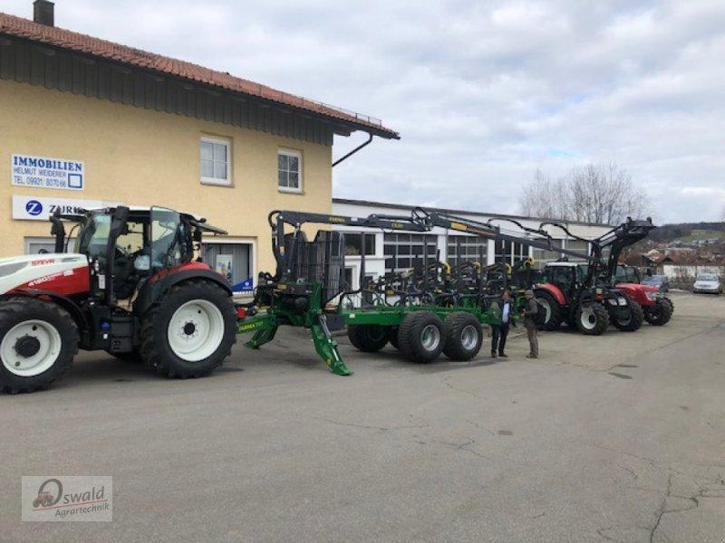 Rückewagen & Rückeanhänger des Typs Farma CT 8,5-17, Neumaschine in Regen (Bild 1)