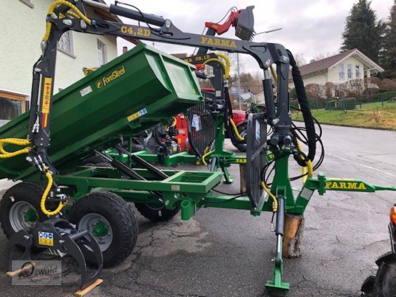 Rückewagen & Rückeanhänger des Typs Farma CT4,2-6, Neumaschine in Regen (Bild 2)