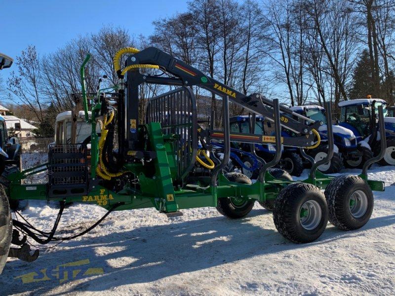 Rückewagen & Rückeanhänger des Typs Farma CT6,3-9F, Neumaschine in Lindenfels-Glattbach (Bild 1)