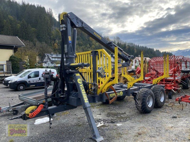 Rückewagen & Rückeanhänger des Typs Farma Perfekta mit Farmer Kran, Gebrauchtmaschine in Kötschach (Bild 1)