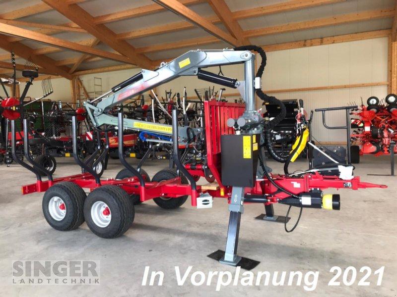 Rückewagen & Rückeanhänger des Typs Forest-Master RW 10 profiLine FK 7000 Druckluft, Neumaschine in Ebenhofen (Bild 1)