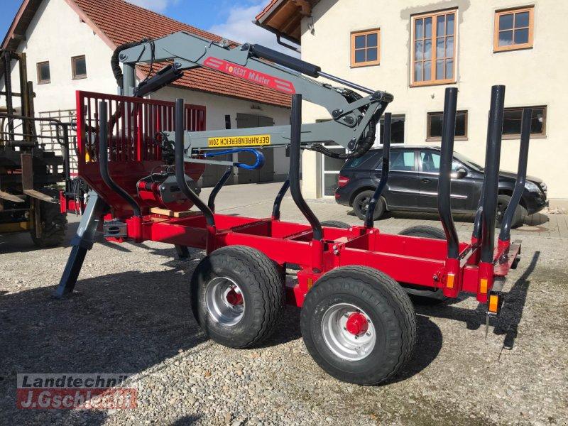 Rückewagen & Rückeanhänger des Typs Forest-Master RW 14 4DL mit FK7000, Neumaschine in Mühldorf (Bild 5)