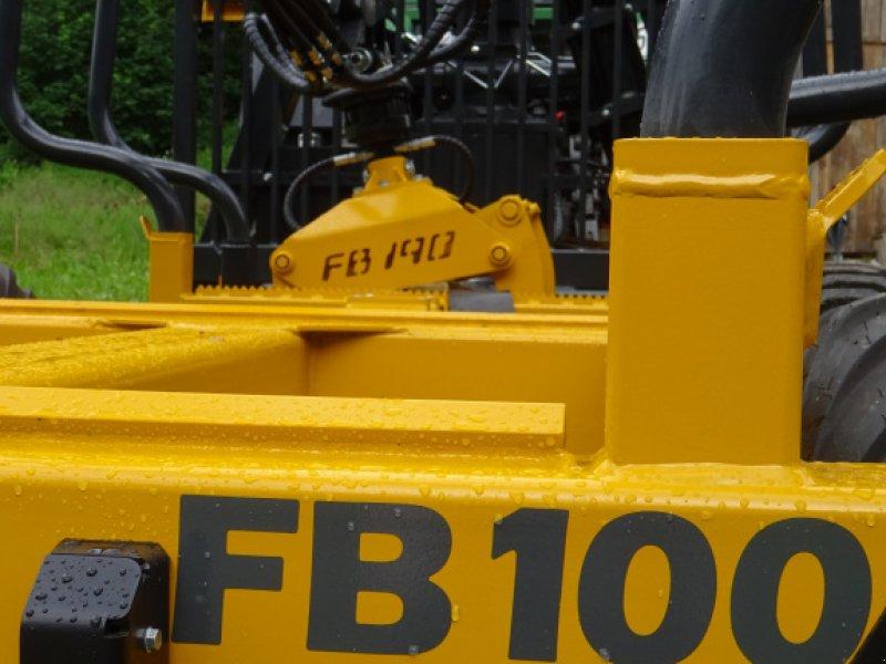 Rückewagen & Rückeanhänger des Typs Källefall FB100 FB69T, Neumaschine in Happurg (Bild 3)
