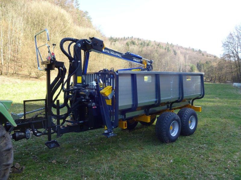 Rückewagen & Rückeanhänger des Typs Källefall FB70 FB53T, Neumaschine in Happurg (Bild 4)