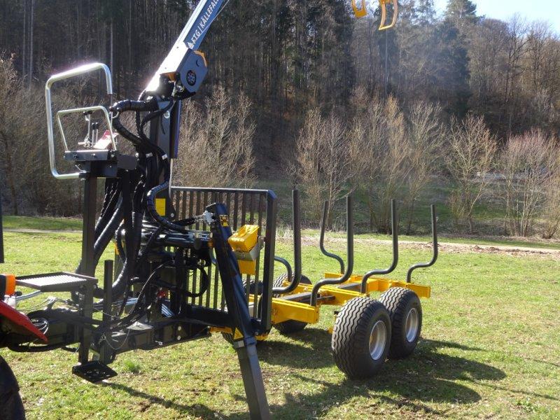 Rückewagen & Rückeanhänger des Typs Källefall FB70 FB53T, Neumaschine in Happurg (Bild 6)