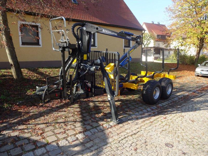 Rückewagen & Rückeanhänger des Typs Källefall FB70 FB53T, Neumaschine in Happurg (Bild 8)