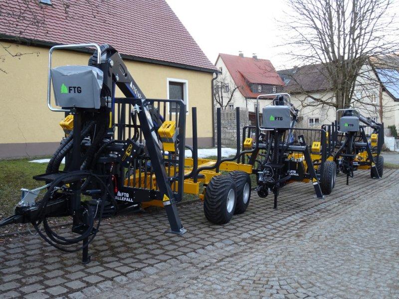 Rückewagen & Rückeanhänger des Typs Källefall FB90 FB63T, Neumaschine in Happurg - Föhrenbach (Bild 1)